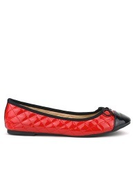 Ballerines  Rouge, Chaussures Femme, Cendriyon