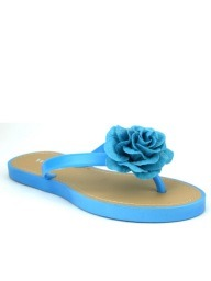 Tongs  Turquoise, Chaussures Femme, Cendriyon
