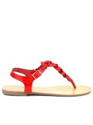 Tongs  Rouge, Chaussures Femme, Cendriyon