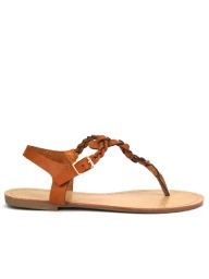 Tongs  Caramel, Chaussures Femme, Cendriyon