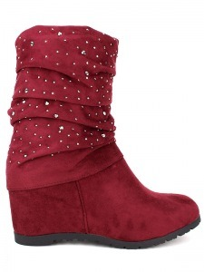 Bottines  Rouge, Chaussures Femme, Cendriyon