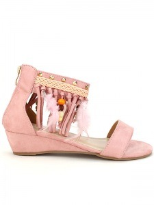 Sandales  Rose, Chaussures Femme, Cendriyon