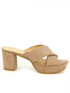 Sandales  Taupe, Chaussures Femme, Cendriyon
