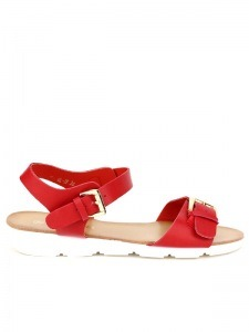 Sandales  Rouge, Chaussures Femme, Cendriyon