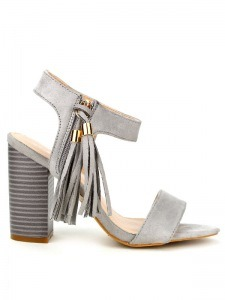 Sandales  Gris, Chaussures Femme, Cendriyon
