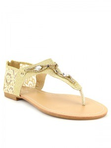 Tongs  Beige, Chaussures Femme, Cendriyon