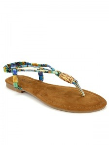 Tongs  Multicolore, Chaussures Femme, Cendriyon