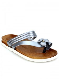 Tongs  Gris, Chaussures Femme, Cendriyon