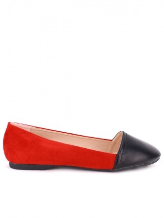 Ballerine Color Red and Black KOY'S