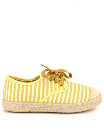 Espadrille façon SLIPPERS Rayures