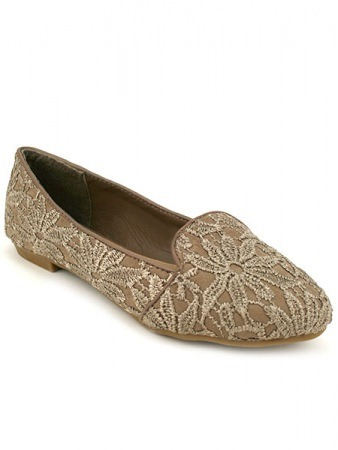 Mocassin Slippers Taupe SILINA Mode