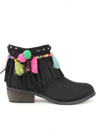 Lows boots pompons Colors AZALEE